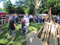 Fotostrecke: Feuerwehrjugend campt in Hemsbach