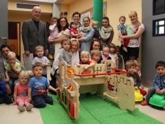 Großzügige Spende der Familie Linnebach