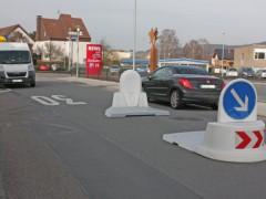 """Berliner Straße: Mittelinsel als """"Tempobremse"""""""